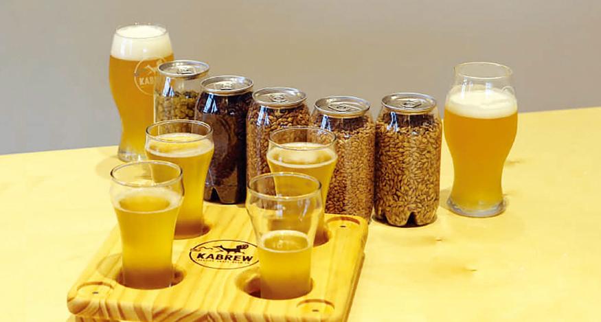 농업에 다가가는 크래프트 맥주 이미지
